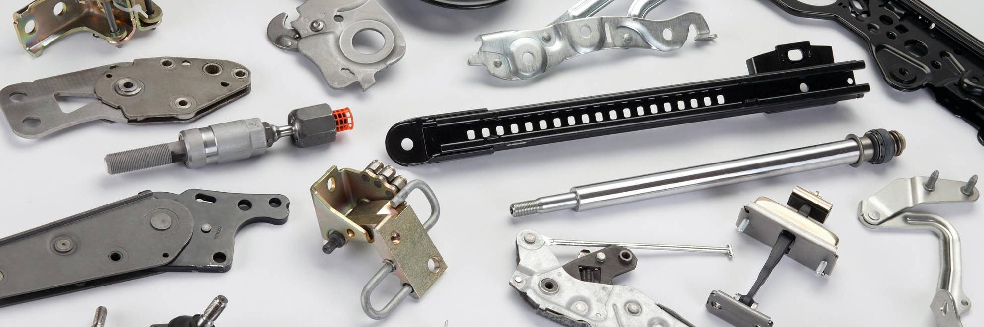 Componentes de automoción ensamblados