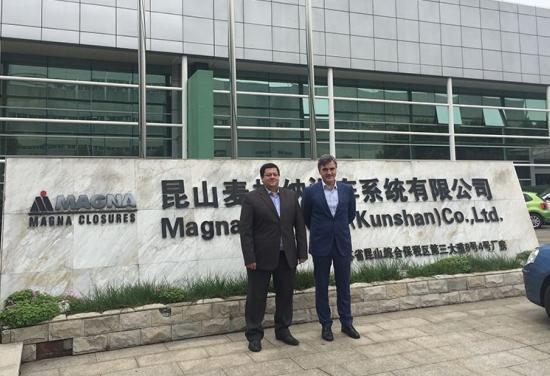 AGME estrecha relaciones con fabricantes Tier 2 en China