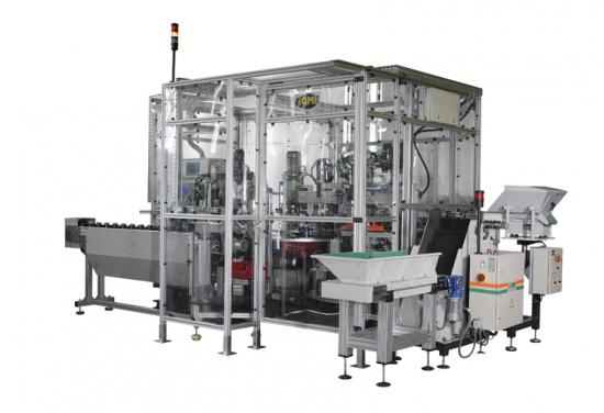 Máquina a medida montaje rótulas