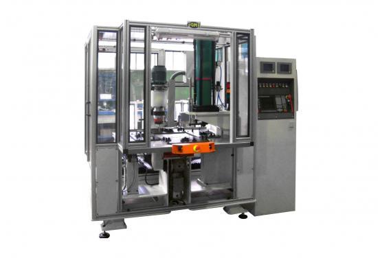 Transfer para inserción de tuercas tox y remachado de reclinadores