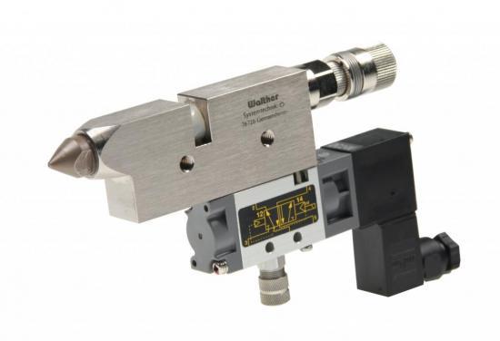 Válvula de pulsación de grasa Walther
