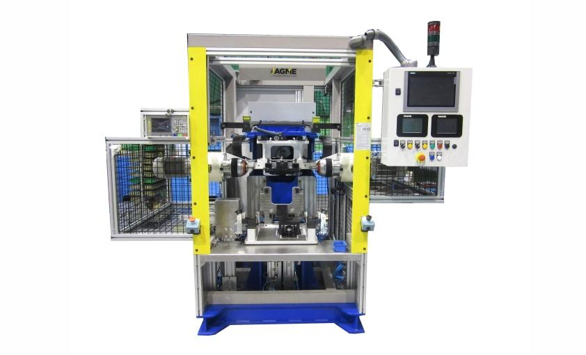double riveting machine agme