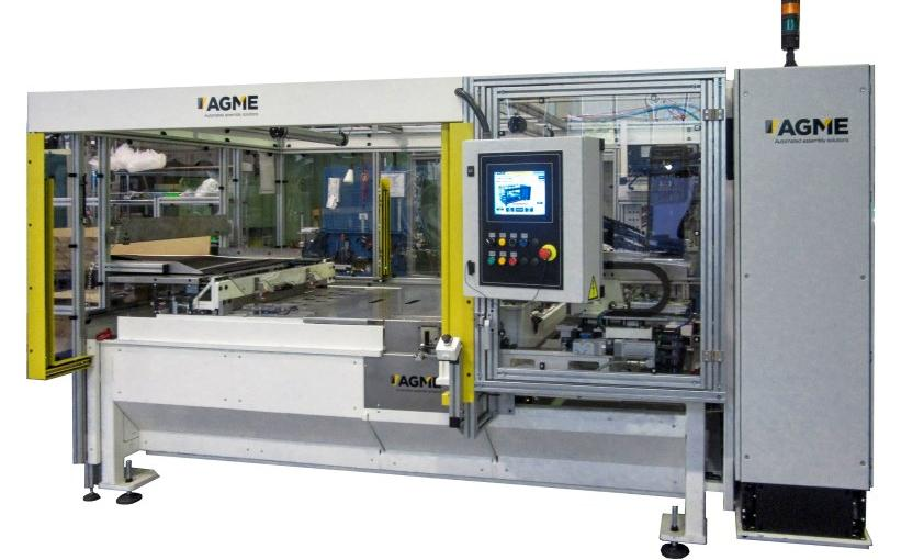 sunroof systems gluing tubes to fabric special machine