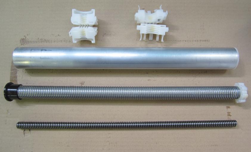 engrasado de columna de elevación de motor de mesa