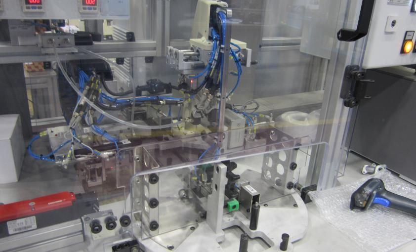Máquina de control de estanqueidad de válvula