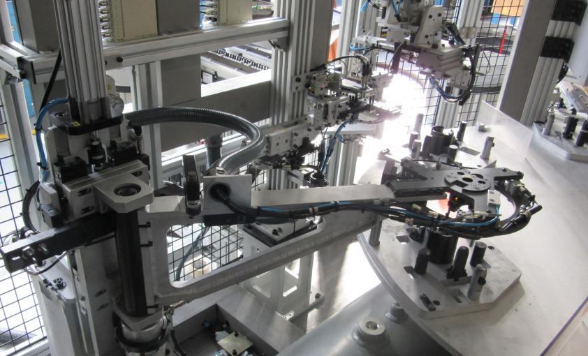 Tecnologías propias de Agme: manipulador