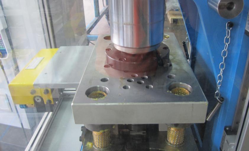 prensa eléctrica 12 tons para prensado de cadenas