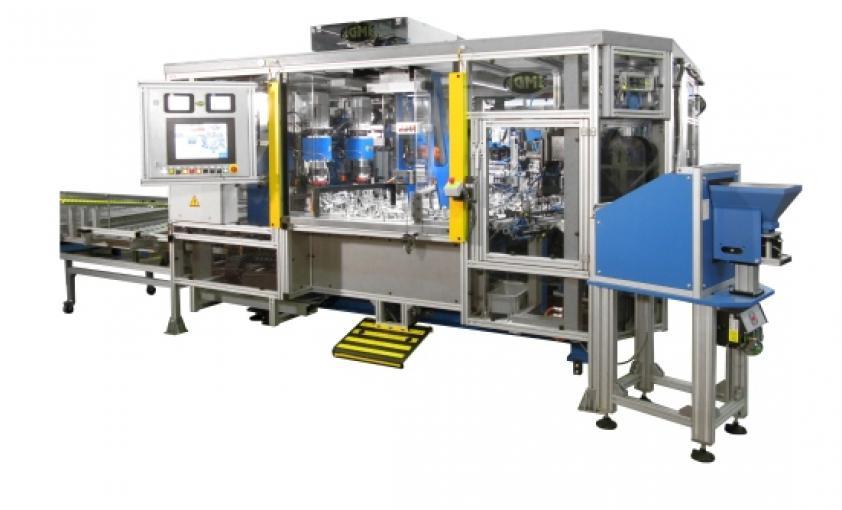 Máquinas a medida para ensamblaje, control y marcaje de bisagras