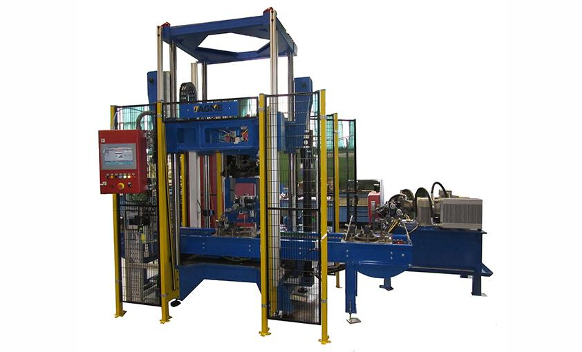 Refrigeration compressors special hydraulic press
