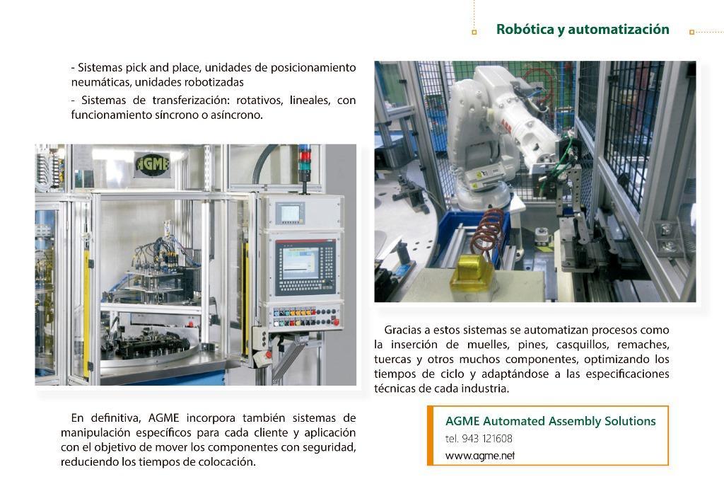 maquinas especiales ensamblaje componentes
