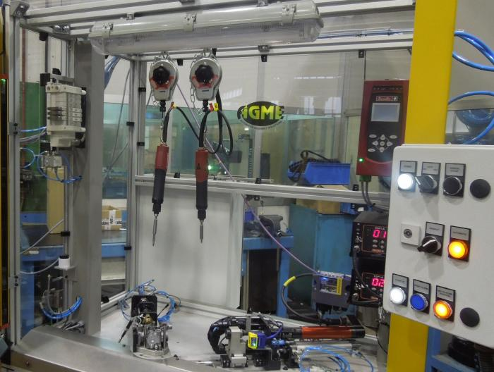 Tecnología con partners de Agme: atornillado